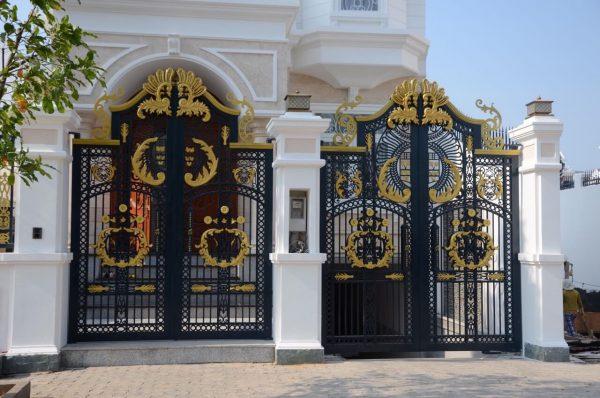 cổng sắt mỹ thuật cnc 05