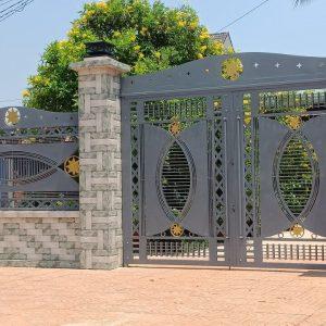 cổng sắt mỹ thuật cnc
